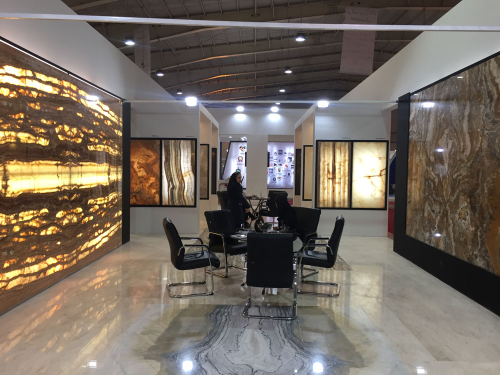 13th  International Exhibition of Stone... Esfahan.